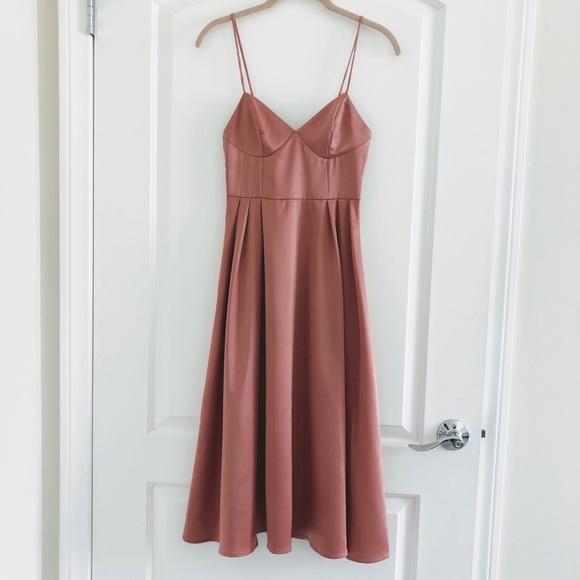 H&M Dresses & Skirts - H&M Pink Satin Dress